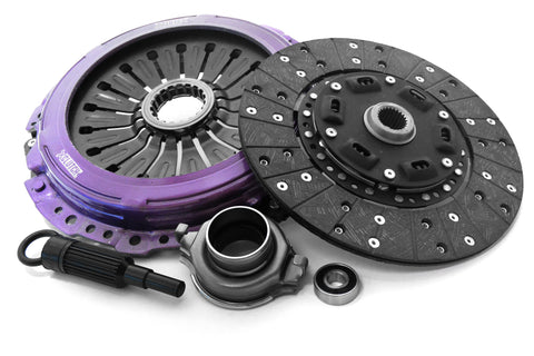 XClutch Sprung Organic Stage 1 Clutch Kit w/ Steel Backed Facing - 04-14' Subaru STi