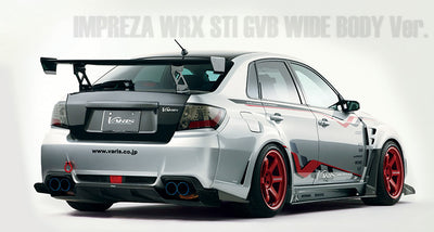 Varis Full Widebody Kit D - Subaru GRB STi Sedan (08-14')