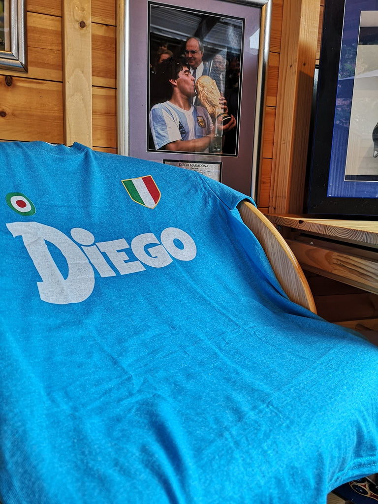 Covert Football Trips Napoli 'Diego' tee