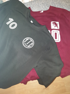 Turin Crowd and Torino 'Toro' sweatshirts
