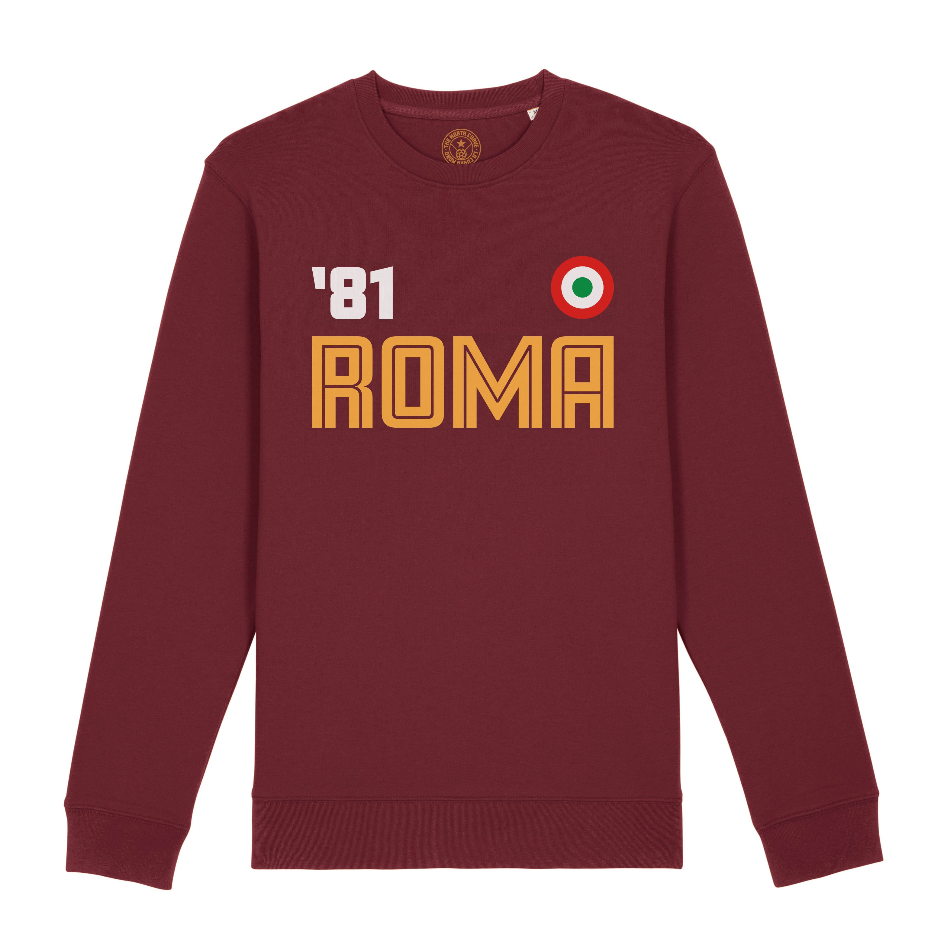 Roma 1981 sweatshirt - The North Curve - Retro football sweatshirt