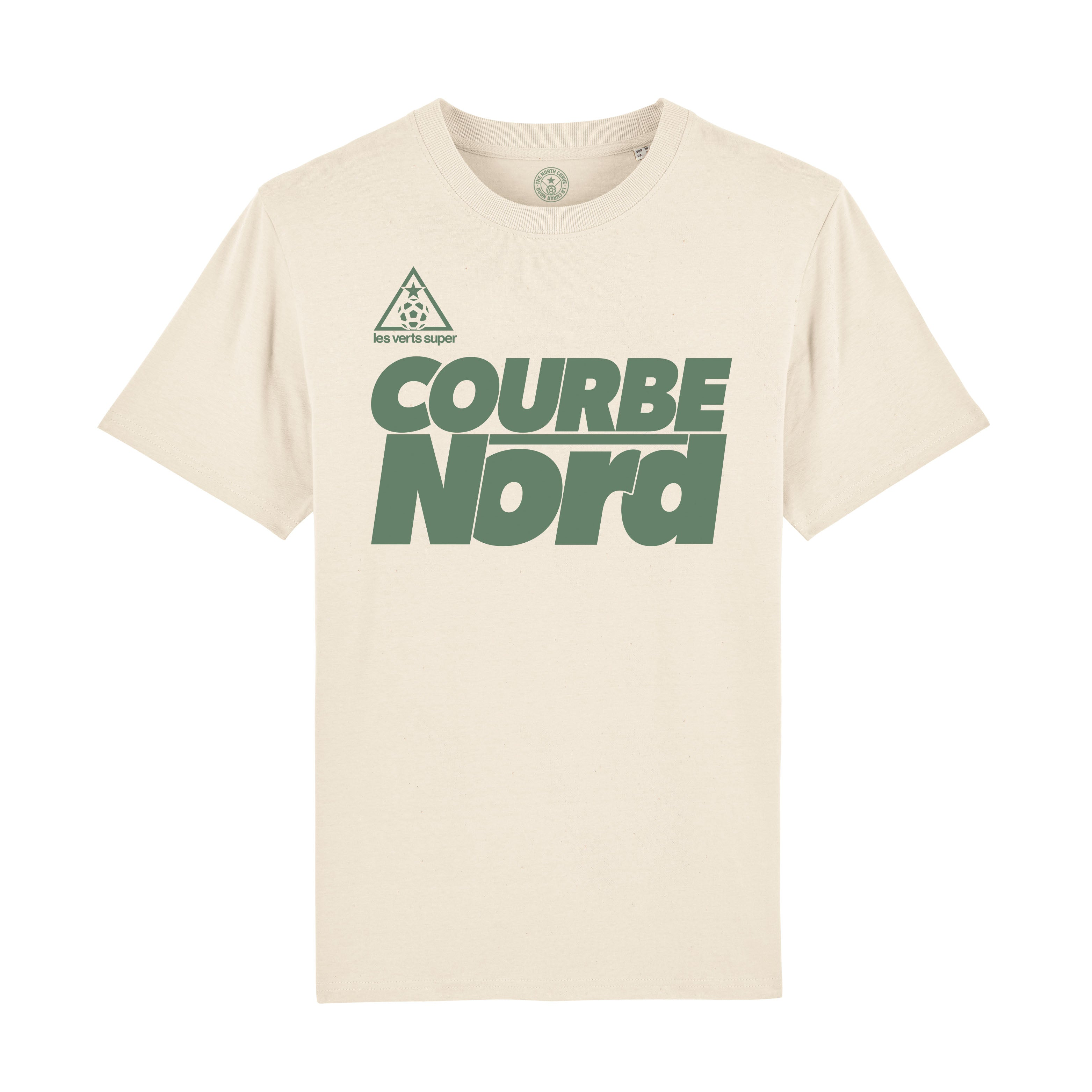 St Etienne 80 Raw t-shirt-Retro Football-The North Curve