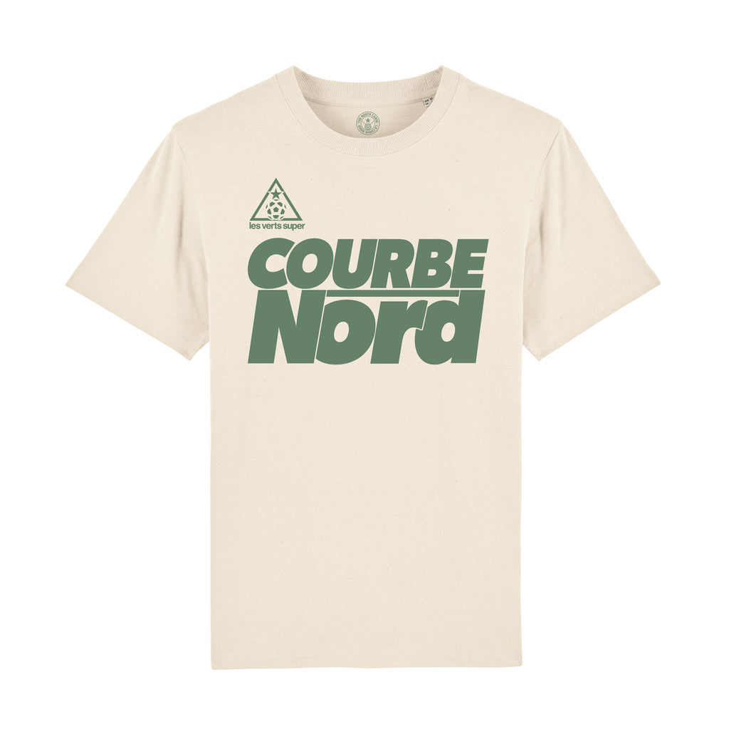 St Etienne 1980 Raw T-shirt - The North Curve - Retro Football Shirt