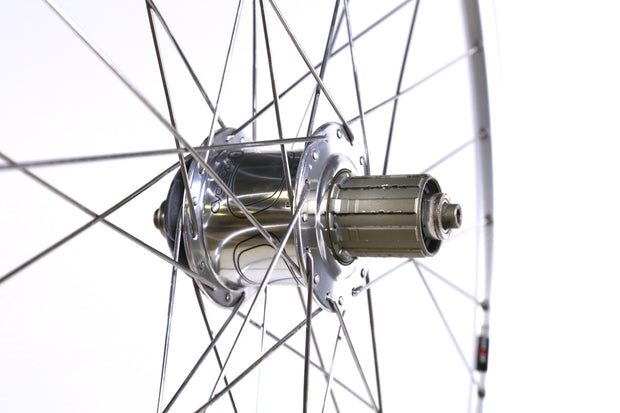 Mavic Open Pro 700C Road Bike Rear Wheel 10 Speed Clincher QR CycleOps Powertap