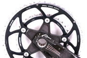 FSA Carbon Pro Crankset with Chainrings ISIS 50/34T 175mm 526g