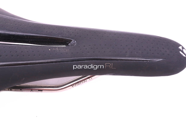Bontrager Paradigm RL Road Bike Saddle Titanium Rail 270x138mm Black 228g