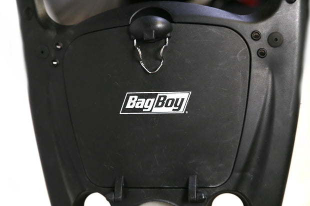 BagBoy Express 180 Golf Push Cart 3 Wheels Folding Black