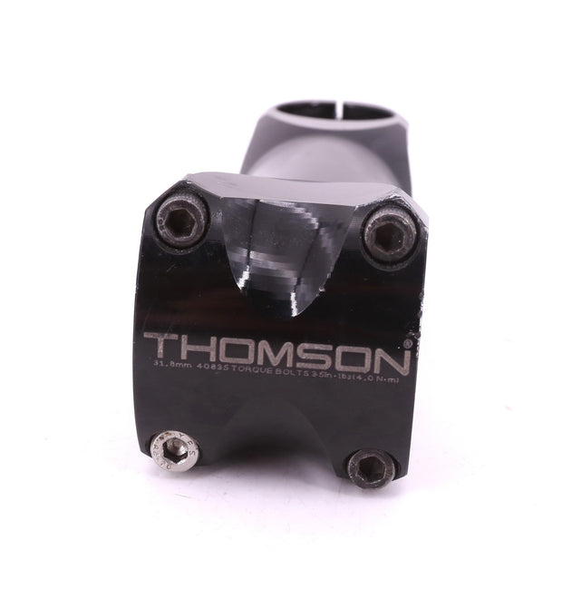 Thomson Elite X4 Bicycle Stem Alloy 31.8 mm x 110 mm 0 Degree Rise