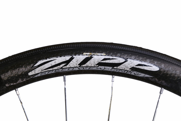 Zipp 303 700C Carbon Road Bike Rear Wheel 10 Speed Tubular QR w/ Bag