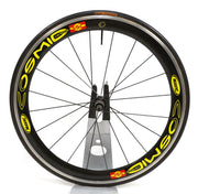 "Mavic Cosmic Carbone SSC Tubular Wheelset Carbon Fiber 27"" Road Bike 10 Speed"
