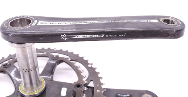 Campagnolo Record Ultra Torque Carbon Road Bike Crankset 172.5 11 Speed 53/39T