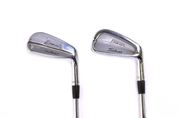 Titleist 735.CM Chrome 5, 9 Iron Set Right Handed Steel Dynamic Gold S300 Shafts