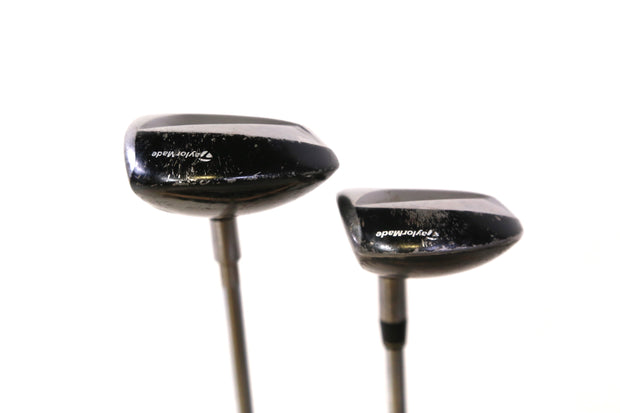 TaylorMade V Steel 3, 7 Fairway Wood Set RH Steel Shaft Regular Flex