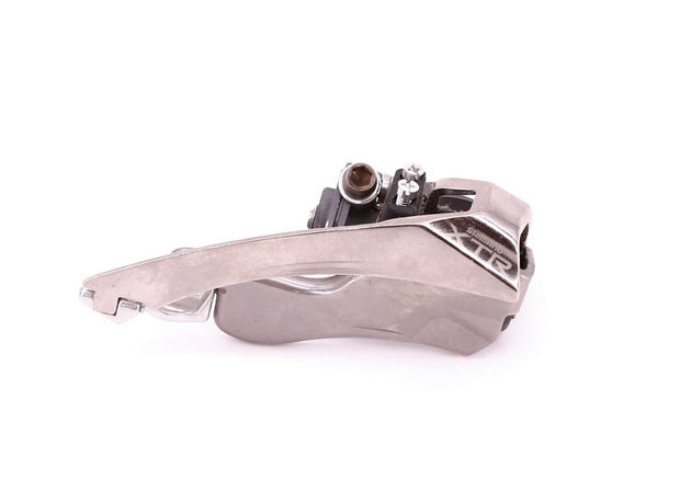 Shimano XTR FD-M950 3 x 8 Speed MTB Front Derailleur 31.8 mm Clamp Silver