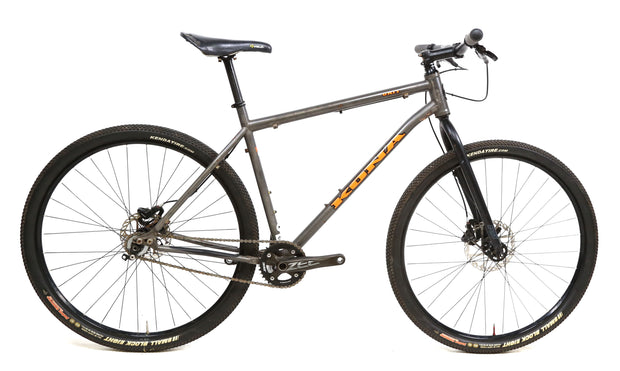 "Kona Unit Steel Rigid Mountain Bike L / 20"" Single Speed SRAM 29"" Wheels"