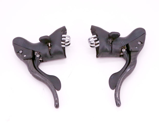 Campagnolo Super Record 11 Carbon Road Bike Shifter Set 2 x 10 Speed 354 g