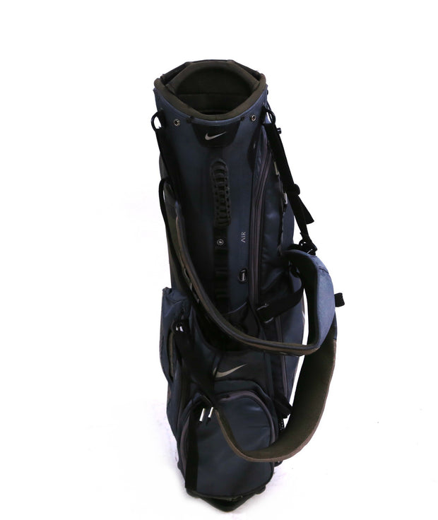 Nike Air Sport 2014 Stand Golf Bag 8 Way Divider Gray Rain Hood Included