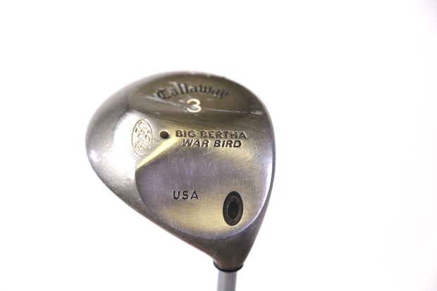 Callaway Big Bertha War Bird S2H2 3 Wood 43 in RH 15 Degree Graphite Shaft