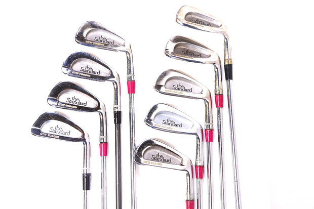 Palmer Peerless The Standard GTW Forged 3-9, PW Iron Set RH Steel Shaft
