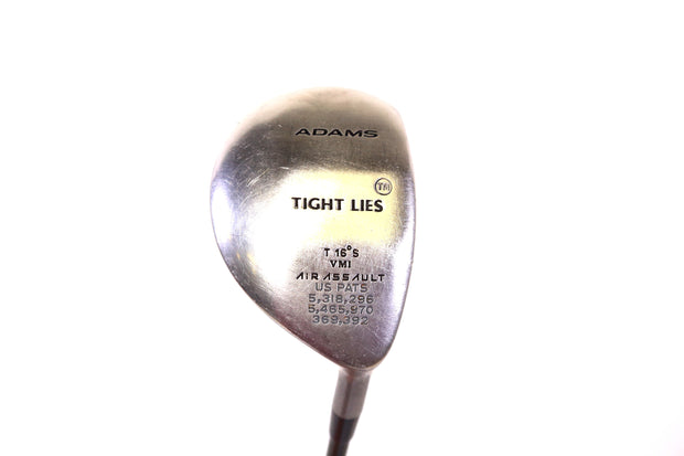 Adams Tight Lies 3-Wood 43 Inches Right Handed 16 Degree Graphite Shaft