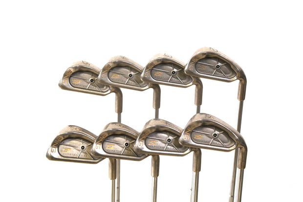 Ping ISI Black Dot 2-9 Iron Set Right Handed Steel Karsten Z65 Shafts