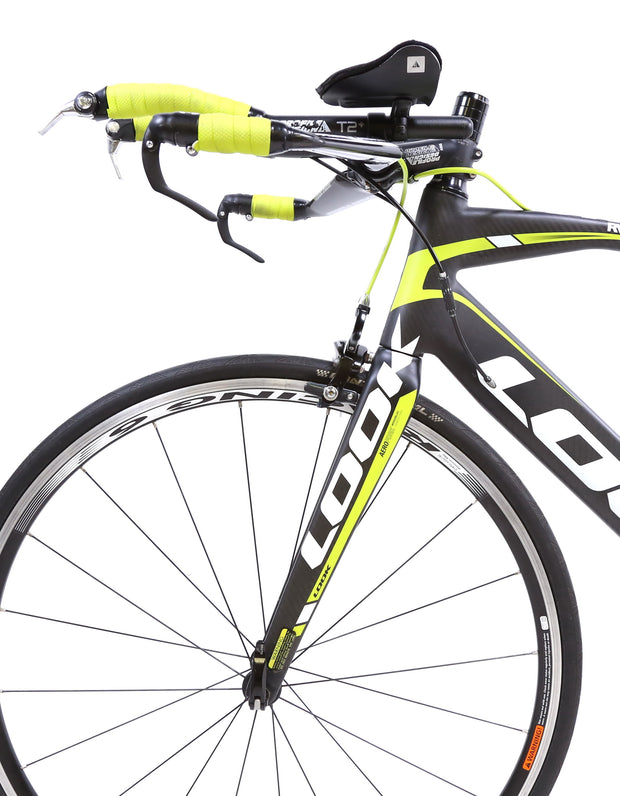 Look 576 Aero Carbon TT / Triathlon Bike 2 x 10 Speed Shimano Fulcrum L / 55 cm