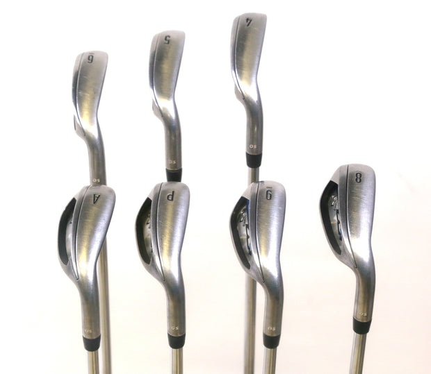 Callaway XR OS 4-6, 8-GW Iron Set RH Steel True Temper XP 105 Stiff Flex Shafts