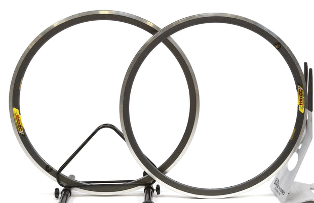Velocity Deep V Road Bike Aluminum Clincher Front & Rear Hoop Rim Set 28H 650C