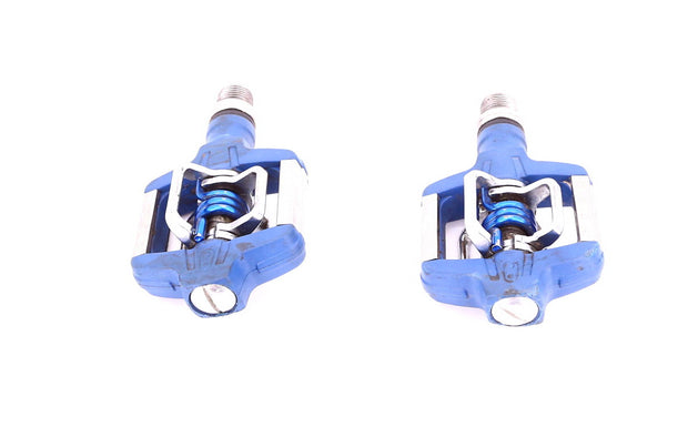 Crank Brothers Candy C MTB Pedals Chromoly Spindle Blue 304g