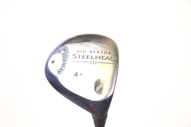 Callaway Big Bertha Steelhead III 4+ Wood 42.5 in RH 15 Degree Epic Nano R Flex