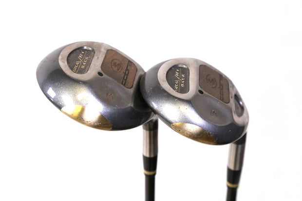 Cobra Gravity Back 3, 5 Wood Set Right Handed Graphite Regular Flex Shaft