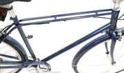 "Giant Via 2 Hybrid / Comfort Bike L / 21"" 8 Speed 700C Wheels SRAM 4130 Steel"