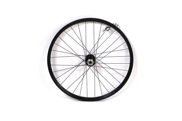 "Forte Loco 26"" Mountain Bike Front Wheel Clincher 20 mm TA Disc"