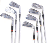 Wilson Staff Patty Berg 3-8 Irons, Pitching Wedge Iron Set RH Steel Shaft