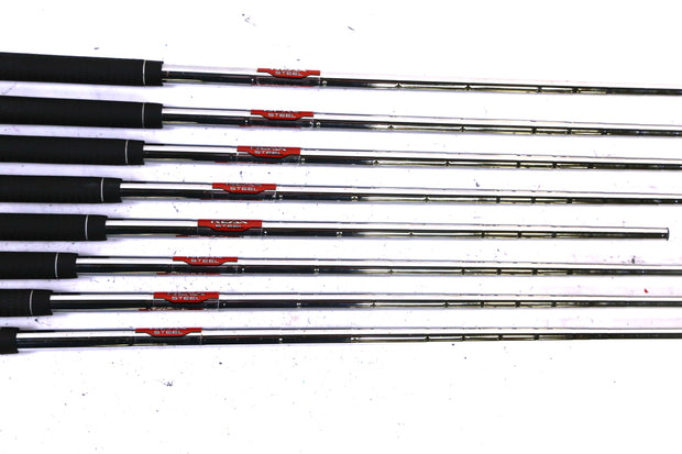 TaylorMade RSi 1 4-9, PW, AW Iron Set Right Handed Steel Stiff Flex Shafts