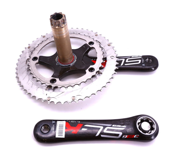 FSA SL-K Light 386EVO Crankset Carbon 10 Speed 172.5mm Double 53 / 39T