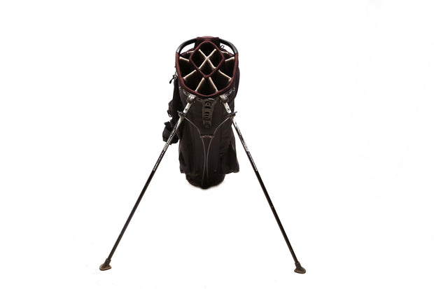 Ogio Grom XX Stand Golf Bag 14-Way Men's Black Dual Strap 7 Pockets