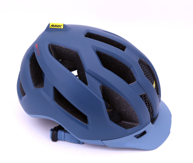 Mavic XA Pro Mountain Bike Helmet Blue MEDIUM CPSC New in Box