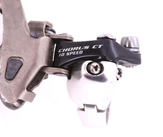 Campagnolo Chorus CT Road Bike Front Derailleur 2x10 Speed 35mm Clamp Silver