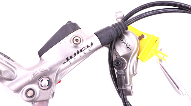 Avid Juicy 7 Mountain Bike Hydraulic Disc Brakeset Levers, Calipers, 160mm Rotor