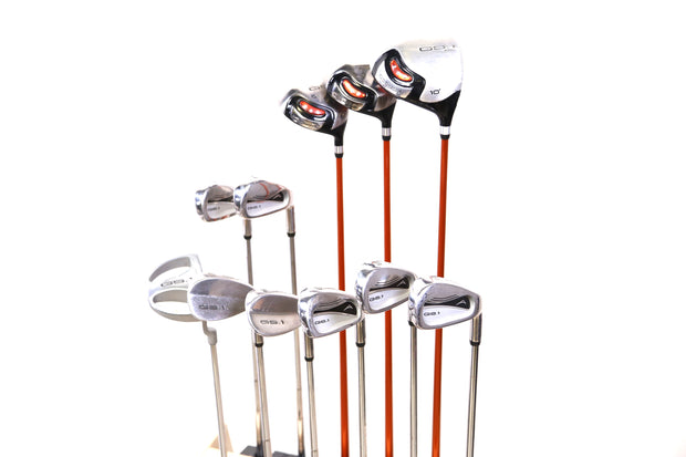 Acuity GS.1 Full Golf Set 11 Clubs Driver, Woods, Irons Putter and Bag LEFTY LH