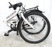 Carrera Transit Aluminum Folding Commuter Road Bike 1 x 3 Speed Shimano