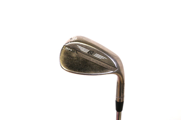 Titleist Vokey SM8 Chrome M Grind Sand Wedge 35.5 in RH 56 Degree Steel Shaft