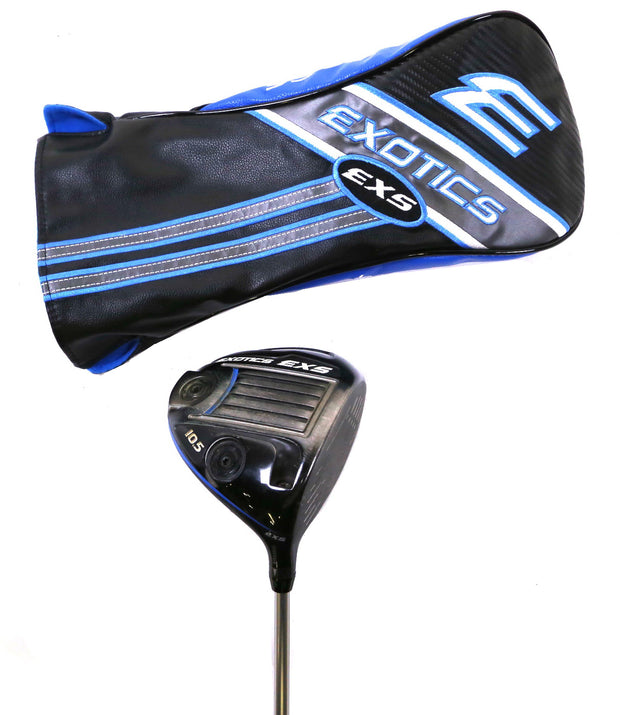 Exotics EXS Driver 45.5in RH 10.5 Degree Mitsubishi Chemical Graphite Regular