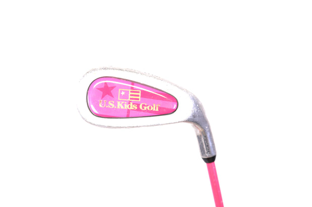 U.S. Kids Golf, WT-25U 3 Wood, 7, PW, Jekyll Putter, Training Club, Stand Bag