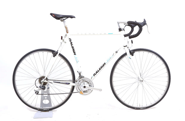 Raleigh Olympian Technium Vintage Road Bike 3 x 7 Speed Shimano Exage XL / 59 cm
