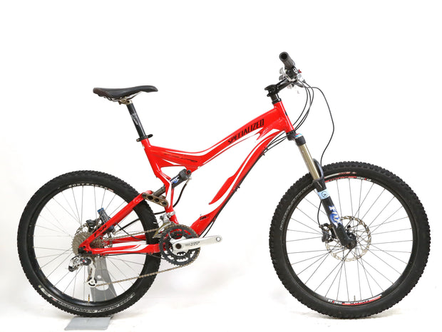 "2007 Specialized Stumpjumper FSR Expert L / 19"" Mountain Bike 3 x 9 SRAM Shimano"