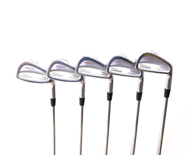 Titleist 695 CB Forged 5-9 Iron Set Right Handed True Temper Steel Shafts