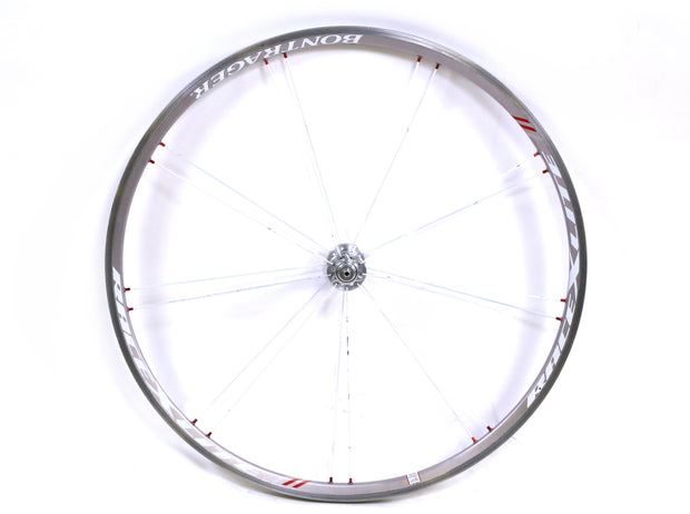 Bontrager Race Lite Road Bike Front Wheel 700c Clincher Rim Brake QR Silver