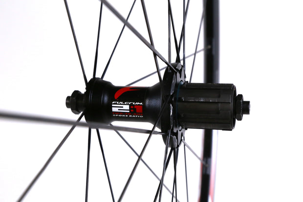 Fulcrum Racing 4 700C Road Bike Rear Wheel 10 Speed Clincher Rim Brake QR